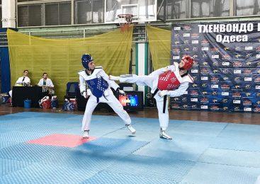 Открытый чемпионат Одесской области по тхэквондо прошел в Южной Пальмире
