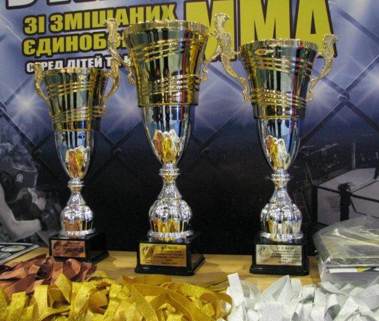 4 золотых и 5 бронзовых медалей завоевали одесситы на чемпионате Украины по смешанным единоборствам ММА
