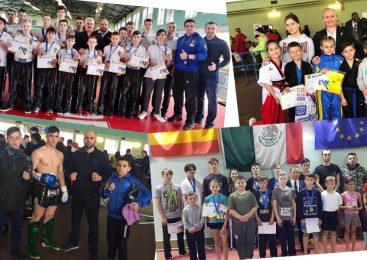 47 медалей завоевала Одесская сборная команда на чемпионате Украины по кикбоксингу WAKO среди юношей и юниоров