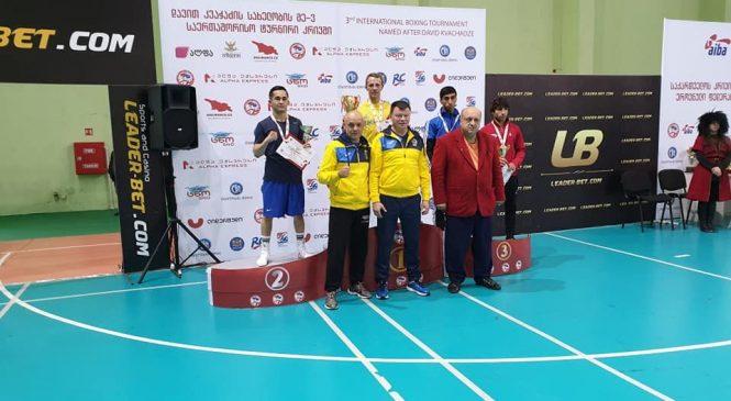 Одессит Николай Буценко выиграл золото Международного турнира по боксу среди мужчин имени Давида Квачадзе