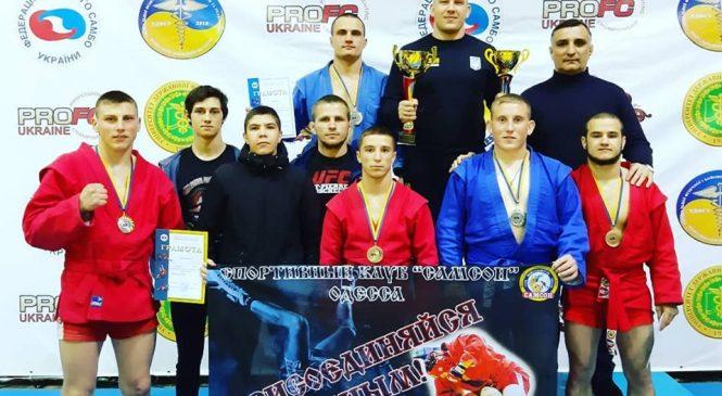 Путевки на чемпионат Европы завоевали одесситы по итогам чемпионата Украины по боевому самбо среди мужчин и юниоров
