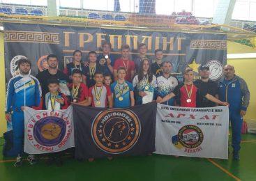 40 наград и путевки на чемпионат мира завоевала сборная команда Одесской области на чемпионате Украины по панкратиону и грэпплингу