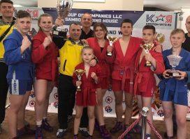 8 медалей и 3 общекомандное место заняли самбисты из Ананьева (Одесская область) на международном турнире по самбо в Вене