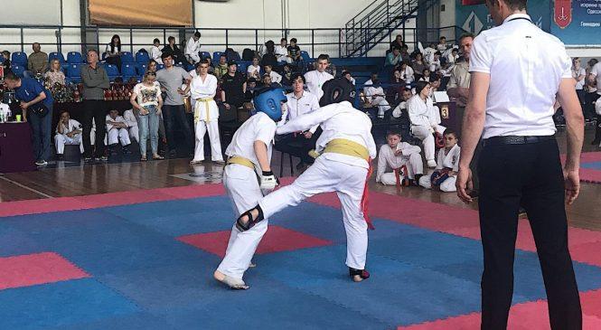 Всеукраинский Открытый турнир «Кубок Содружества» по контактному каратэ прошел в Одессе