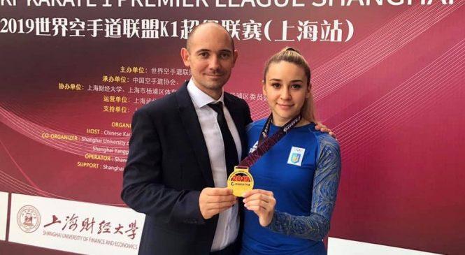 Одесская каратистка Анжелика Терлюга завоевала золото в Китае