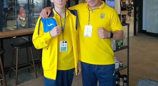 Спортсмен федерации бокса Одесской области Дмитрий Молодан стал вице-чемпионом Европы 2019