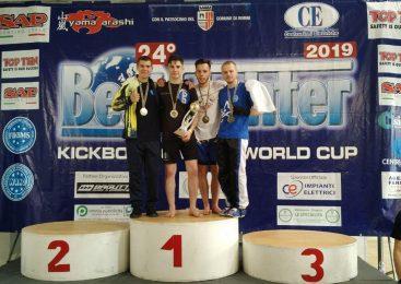 Одессит Александр Луцишин стал вице-чемпионом Кубка мира по кикбоксингу WAKO в Италии