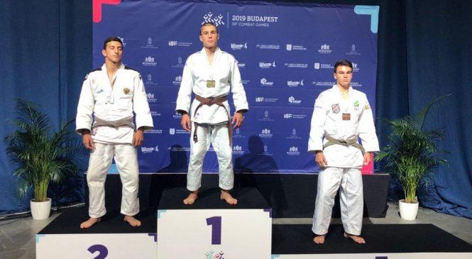 Дзюдоист Одесской области Евгений Гончарко завоевал «золото» на Всемирных играх единоборств среди школьников