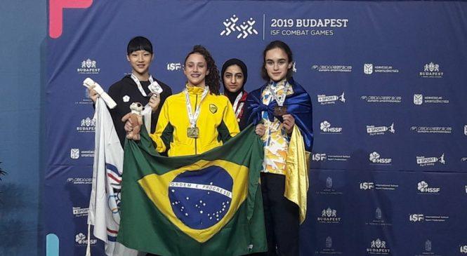 Одесситка Юлиана Липатова стала бронзовым призером Всемирных игр единоборств среди школьников по тхэквондо