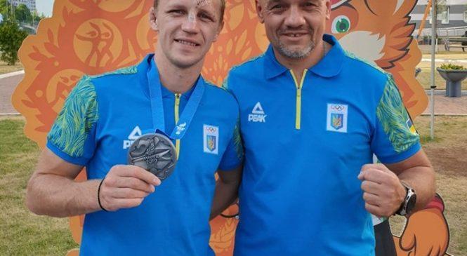 Николай Буценко – выходец Федерации бокса Одесской области стал серебряным призером II Европейских игр