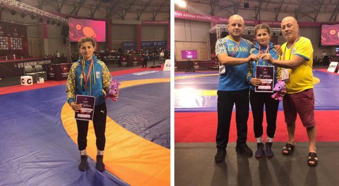 Одесситка Надежда Драганова стала бронзовым призером чемпионата Европы U15 по вольной борьбе