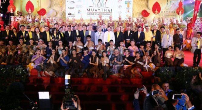 Торжественное открытие чемпионата мира по таиландскому боксу IFMA состоялось