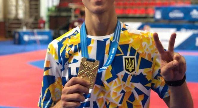 Воспитанник ШВСМ «Олимпиец» (Одесса) Дмитрий Говорун стал чемпионом по тхэквондо European Universities Combat Games