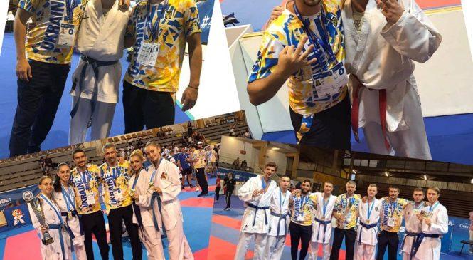 Одесские каратисты стали чемпионами и призерами чемпионата Европы среди студентов European Universities Combat Games
